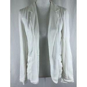 Talula Womens Jacket Blazer Open Front Pockets 2